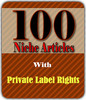 Thumbnail 100 PLR Articles with Resale Rights!