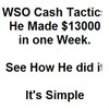 Thumbnail WSO Easy Cash Method $13000 in one week one WSO