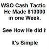 Thumbnail WSO Easy Cash Method $13000 in one week one WSO