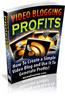 Thumbnail  Video Blogging Profits