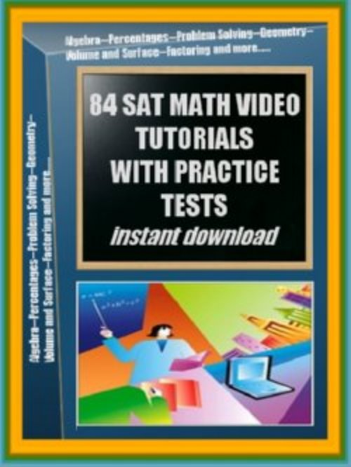 Pay for SAt Practic Math Tutorials