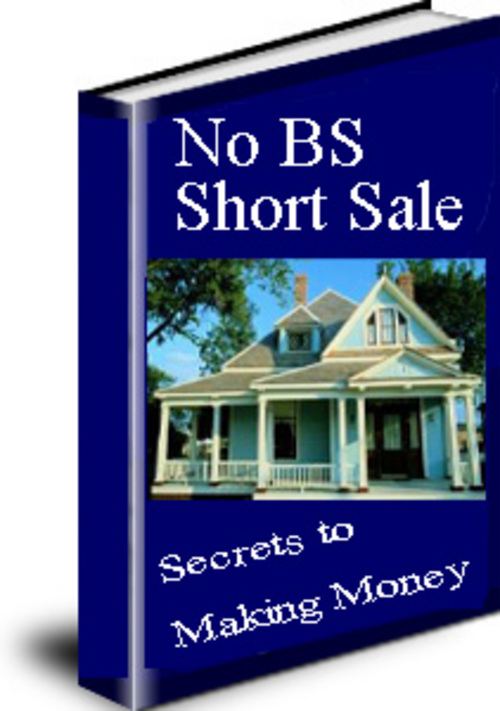 Pay for No BS Real Estate Short Sales