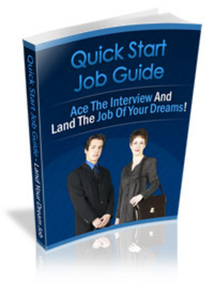Pay for quick start job hunting guide- get your dream job today