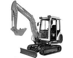 Thumbnail Kubota KX61-2 Mini Excavator Illustrated Parts Book Manual