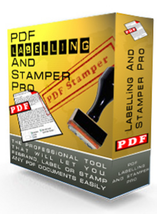 Pay for PDF Labelling & Stamping Tool with RESELL RIGHTS
