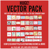 Thumbnail HUGE! Vector Graphics Pack.