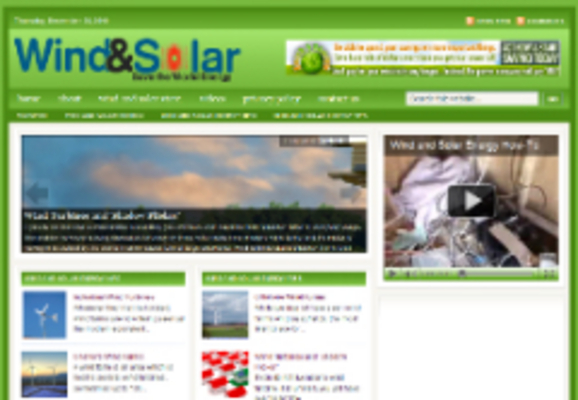 Pay for Wind & Solar Niche Blog (private Label Resell Rights)