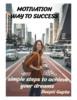 Thumbnail Motivation - Way to Success