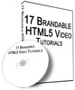Thumbnail 17 QUALITY HTML5 Video Tutorials PLR Giveaway Rights 2013