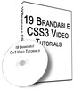 Thumbnail 19 HIGH-QUALITY CSS3 Videos PLR Giveaway Rights 2013