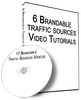 Thumbnail 6 Quality Traffic Sources Videos PLR Giveaway Rights 2013