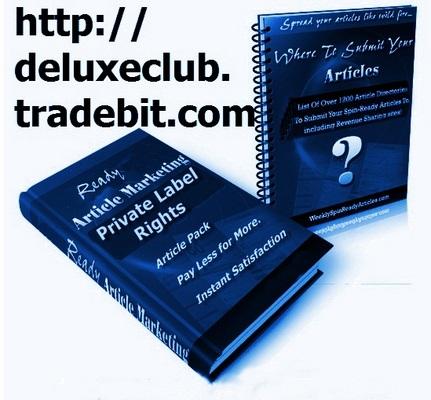 Pay for PLR Ezine Marketing Articles + BONUS PLR Membership