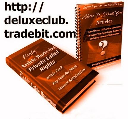 Pay for PLR Various Niche Articles + BONUS PLR Membership