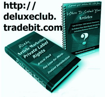 Pay for PLR JV & Marketing Articles Megapack + BONUS PLR Membership