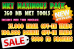 Thumbnail MKT Maximous Pack + 125.000 opt-in email marketing leads