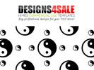 Thumbnail Yin Yang In Black Pattern For Sale