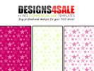Thumbnail Double Stars Vibrant + Bonus White Patterns For Sale