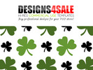 Thumbnail Shamrock Pattern For Sale