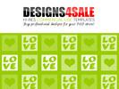 Thumbnail Love Squares White Pattern For Sale
