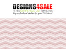 Thumbnail Chevron Pastel Pink Pattern For Sale