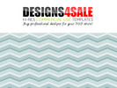 Thumbnail Chevron Pastel Blue Pattern For Sale