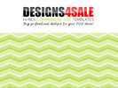 Thumbnail Chevron Lime Green Pattern For Sale