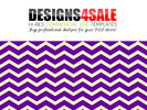 Thumbnail Thick Chevron Purple Pattern For Sale
