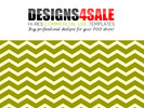 Thumbnail Thick Chevron Green Pattern For Sale
