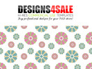 Thumbnail Cute Flowers Pastel Pattern For Sale