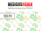 Thumbnail (Spring) Leafy Pattern For Sale