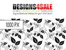 Thumbnail Flourish Black Pattern For Sale