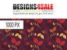 Thumbnail Flourish Autumn Pattern For Sale