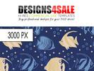 Thumbnail Sea Fish Pattern For Sale