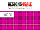 Thumbnail Pink/ Purple Plaid Pattern For Sale