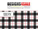 Thumbnail Black Plaid Pattern For Sale