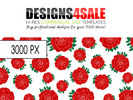 Thumbnail Red Roses Pattern For Sale