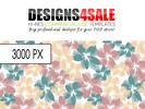 Thumbnail Flower Burst Pastel Pattern For Sale