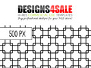 Thumbnail Black Trellis Pattern For Sale