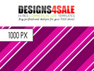 Thumbnail Retro Stripes Pink / Purple Pattern For Sale