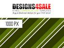Thumbnail Retro Stripes Green Pattern For Sale