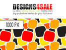 Thumbnail Retro Pattern (Yellow)