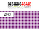 Thumbnail Gingham Check White Pattern For Sale