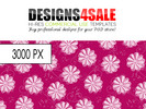 Thumbnail Stylish Floral Pattern For Sale