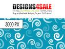Thumbnail Chalk Swirls Pattern For Sale
