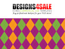 Thumbnail Halloween Argyle Pattern For Sale