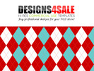 Thumbnail Christmas Argyle Pattern For Sale