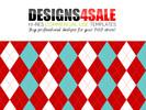 Thumbnail Christmas Argyle Pattern For Sale