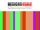 Thumbnail Neon Stripes Pattern For Sale (2)