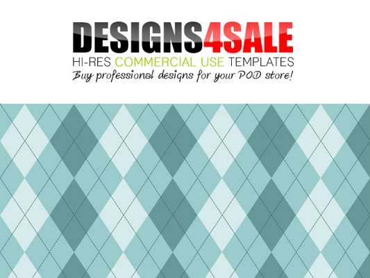 Pay for Argyle Pale Blue Pattern For Sale