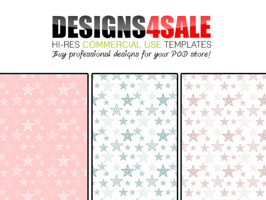 Pay for Double Stars Pastels + Bonus White Patterns For Sale